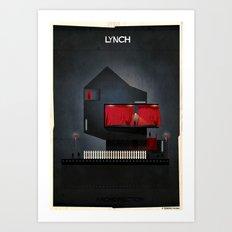 07_ARCHIDIRECTOR_David Lynch Art Print