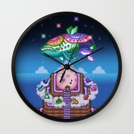 Fish Wind Wall Clock