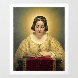 St Catherine Art Print