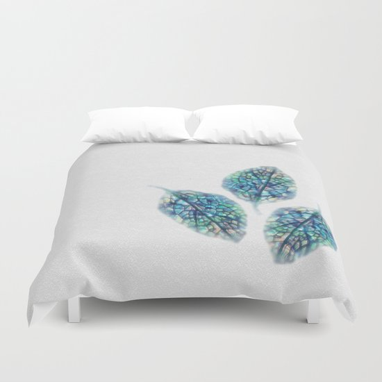 Three Leaves Duvet Cover