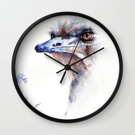 249. Floral Wall Clock
