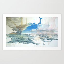 Days on the Pacific Art Print