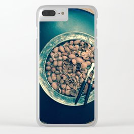 Christmas Nuts! no. 3 Clear iPhone Case