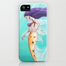 Amatheia the Vain - Clothed iPhone Case