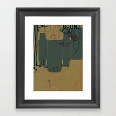 GONE #4 Framed Art Print