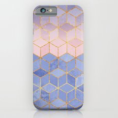 Rose Quartz & Serenity Cubes Slim Case iPhone 6