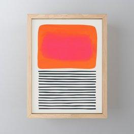 Sunset Ripples Framed Mini Art Print