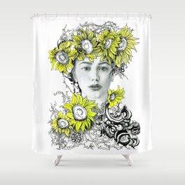 Hobo Freckles Shower Curtain