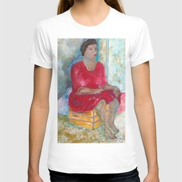 Seated Woman T-shirt