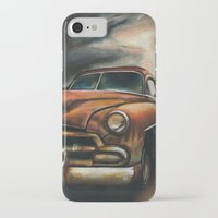 car iPhone & iPod Cases featuring Car by Adrianna Grężak