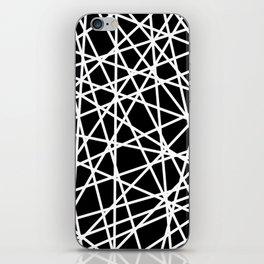 Lazer Dance B&W 1 iPhone Skin