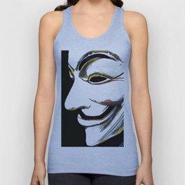 Anonymous Unisex Tank Top
