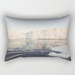 Icebergs in Antarctica Rectangular Pillow