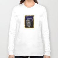 castlevania Long Sleeve T-shirts featuring Dracula Jeopardy by likelikes