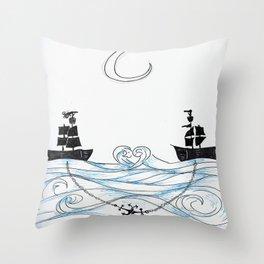 I Ship It Throw Pillow