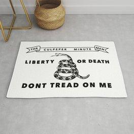 Culpeper Minutemen Flag - Authentic High Quality Rug