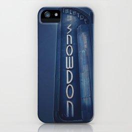 Deco Snowdon iPhone Case