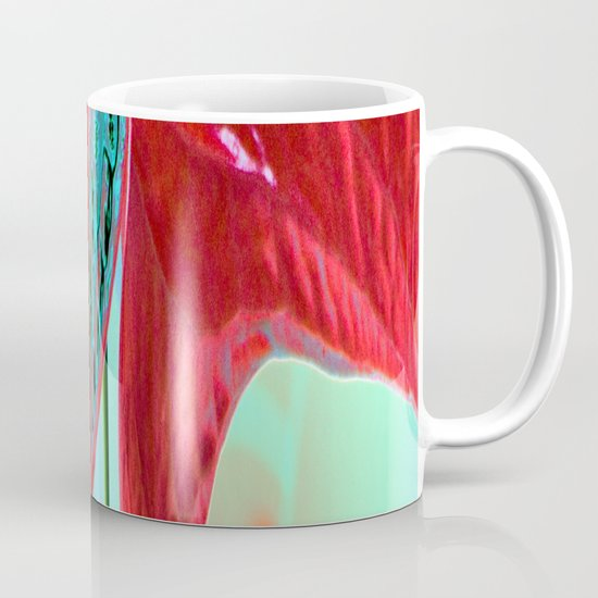 ABSTRACT FLORAL LANDSCAPE  Mug