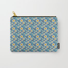English Daisy, Cerulean Carry-All Pouch