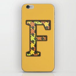 """The Letter """"F"""" iPhone Skin"""