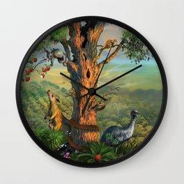 RoleyTotes Wall Clock