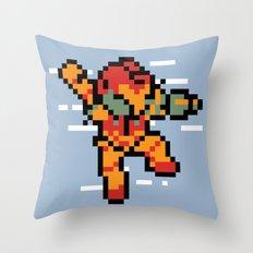 MegaTroid Throw Pillow