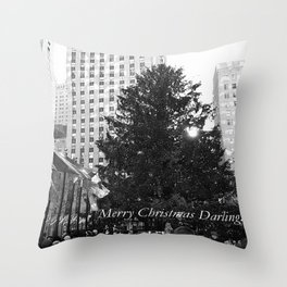 Merry Christmas Darling... Throw Pillow