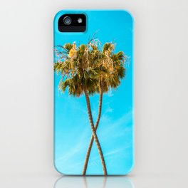 Palm Tree Duo iPhone Case
