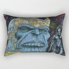 Thanos of Titan Rectangular Pillow