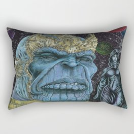 Thanos of Titan Rectangular Pillow