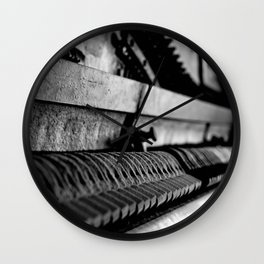DUSTED Wall Clock