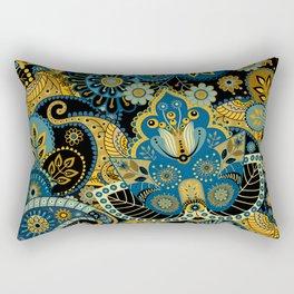 Khokhloma floral pattern Rectangular Pillow