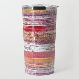 Lavender blush abstract watercolor Travel Mug
