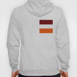 TEAM COLORS 8...Maroon , orange white Hoody
