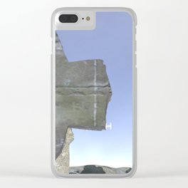 War Stars:Cross Across Clear iPhone Case