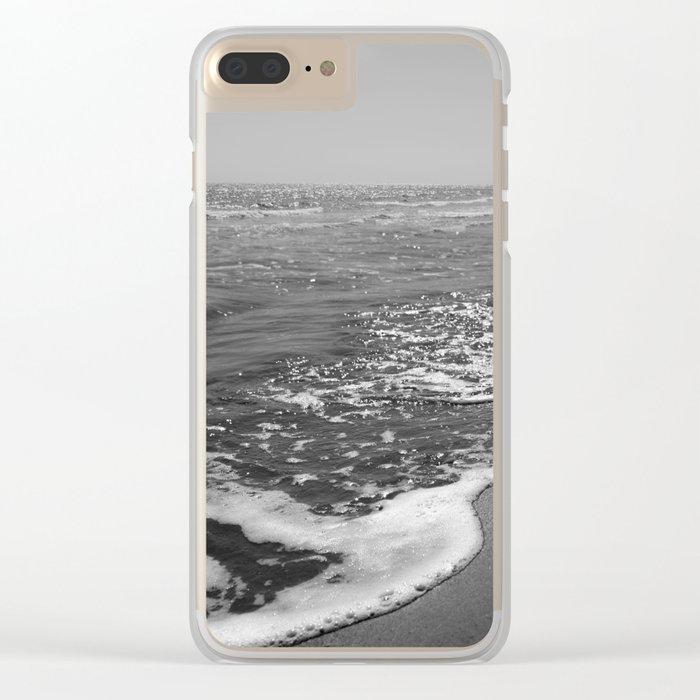 BEACH DAYS XXX Clear iPhone Case