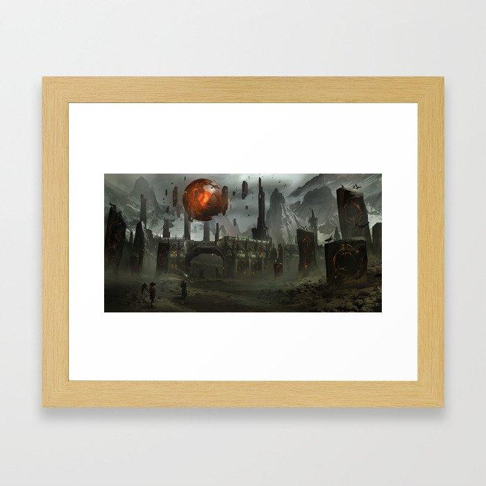 The Epicenter Framed Art Print