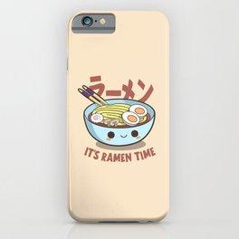 cute ramen kawaii iPhone Case