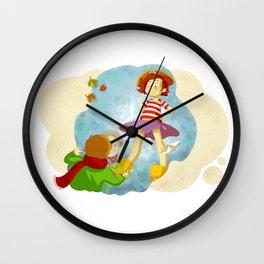 Etienne & Phil - La rencontre Wall Clock