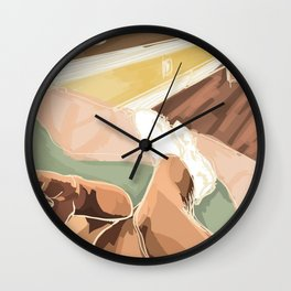 sunday morning Wall Clock