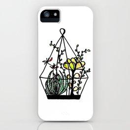 Cactus 16 ( succulent hanging garden ) iPhone Case