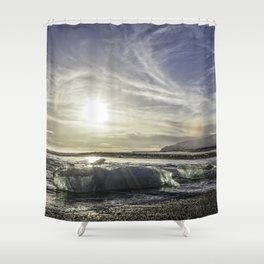 Jokulsarlon Lagoon Beach 03 Shower Curtain