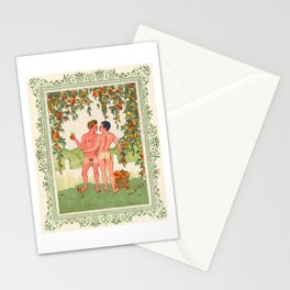Apple Pickers Stationery Cards