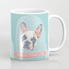 Frenchie Snow Globe featuring Mimi Latte the French Bulldog Coffee Mug