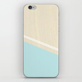 Pastel Wood II iPhone Skin