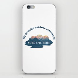 Great Outdoors iPhone Skin