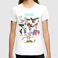 ducks T-shirts featuring Ducks by Natelle Quek