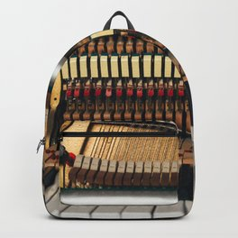 Piano inside Backpack