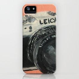Leica Vintage Camera iPhone Case