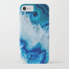 Royally Blue Agate Slim Case iPhone 7
